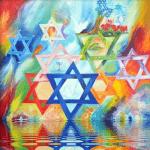 ayahuasca retreat israel flag